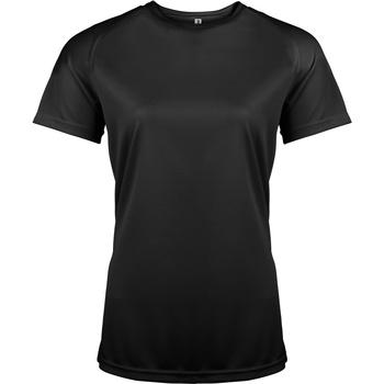 Vêtements Femme T-shirts manches courtes Kariban Proact Performance Noir