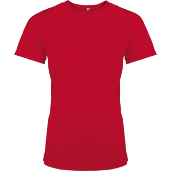 Vêtements Femme T-shirts manches courtes Kariban Proact Performance Rouge