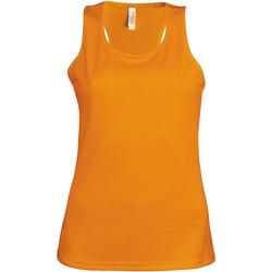 Vêtements Femme Débardeurs / T-shirts sans manche Kariban Proact Proact Orange