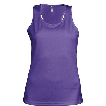 Vêtements Femme Débardeurs / T-shirts sans manche Kariban Proact Proact Pourpre