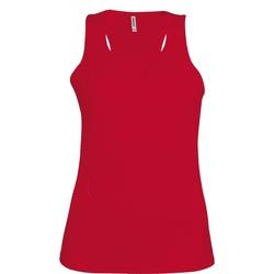 Vêtements Femme Débardeurs / T-shirts sans manche Kariban Proact Proact Rouge