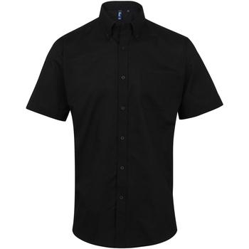 Vêtements Homme Chemises manches courtes Premier PR236 Noir