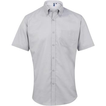 Vêtements Homme Chemises manches courtes Premier PR236 Argent