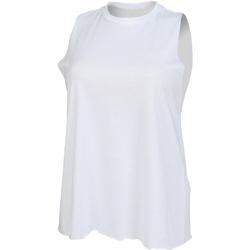 Vêtements Femme Débardeurs / T-shirts sans manche Skinni Fit High Neck Blanc