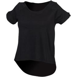 Vêtements Femme T-shirts manches courtes Skinni Fit SK233 Noir