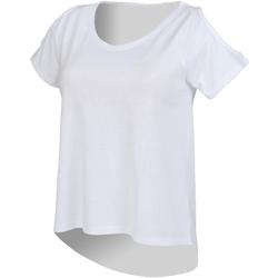 Vêtements Femme T-shirts manches courtes Skinni Fit SK233 Blanc