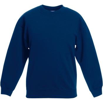 Vêtements Enfant Sweats Fruit Of The Loom Classics Bleu marine