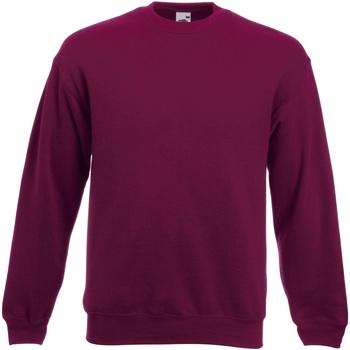 Vêtements Sweats Fruit Of The Loom Premium Bordeaux