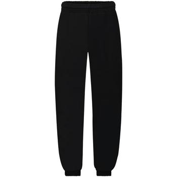 Vêtements Enfant Pantalons de survêtement Fruit Of The Loom Premium Noir
