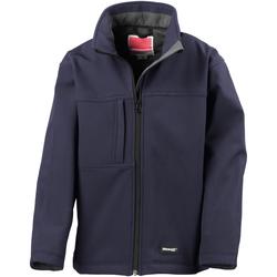 Vêtements Garçon Blousons Result R121X Bleu marine