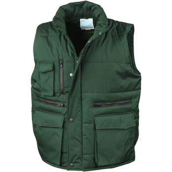 Vêtements Homme Gilets / Cardigans Result R127A Vert bouteille