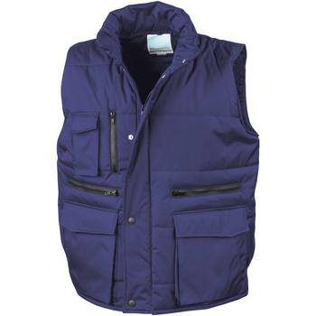 Vêtements Homme Gilets / Cardigans Result R127A Bleu roi
