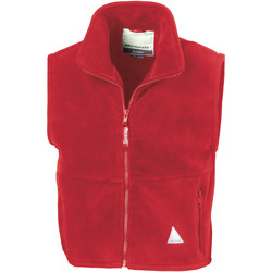 Vêtements Garçon Gilets / Cardigans Result RE37J Rouge