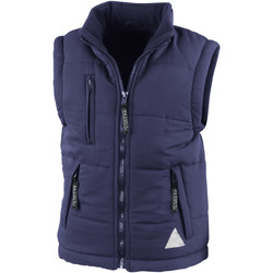 Vêtements Doudounes Result Windproof Bleu marine