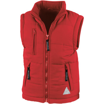 Vêtements Doudounes Result Windproof Rouge