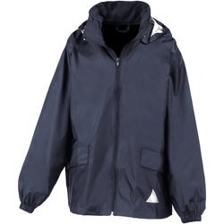 Vêtements Garçon Coupes vent Result R92X Bleu marine