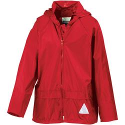 Vêtements Garçon Soins corps & bain Result RE95J Rouge