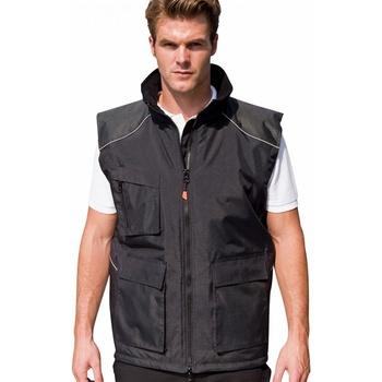 Vêtements Homme Gilets / Cardigans Result Work Noir