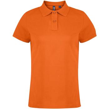 Vêtements Femme Polos manches courtes Asquith & Fox  Orange