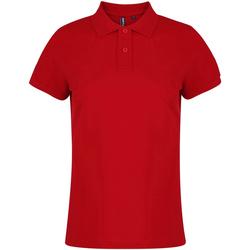 Vêtements Femme Polos manches courtes Toutes les chaussures femme  Rouge
