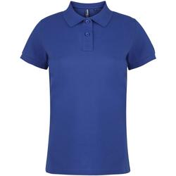 Vêtements Femme Polos manches courtes Asquith & Fox  Bleu roi