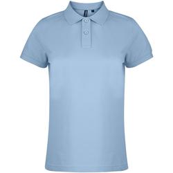 Vêtements Femme Polos manches courtes Asquith & Fox  Bleu ciel