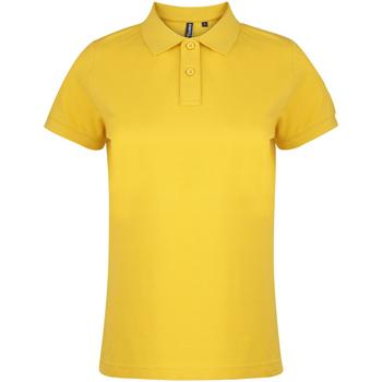 Vêtements Femme Polos manches courtes Asquith & Fox  Tournesol