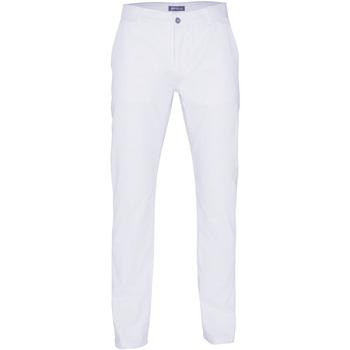 Vêtements Homme Chinos / Carrots Toutes les chaussures femme Casual Blanc