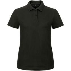 Vêtements Femme Polos manches courtes B And C ID.001 Noir