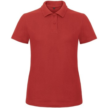 Vêtements Femme Polos manches courtes B And C ID.001 Rouge
