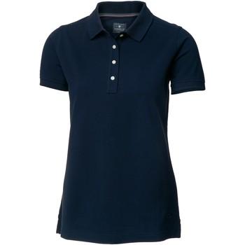 Vêtements Femme Polos manches courtes Nimbus Yale Bleu marine