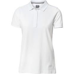 Vêtements Femme Polos manches courtes Nimbus Yale Blanc