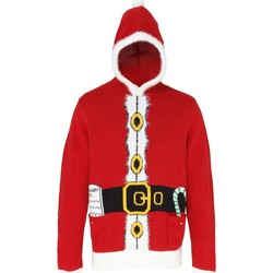 Vêtements Pulls Christmas Shop Hooded Rouge