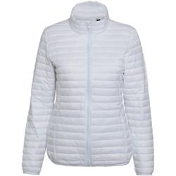 Vêtements Femme Doudounes 2786 Fineline Blanc