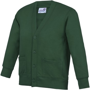 Vêtements Enfant Gilets / Cardigans Awdis Academy Vert