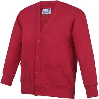 Vêtements Enfant Gilets / Cardigans Awdis Academy Rouge