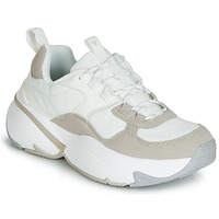 Chaussures Femme Baskets basses Victoria AIRE NYLON/SERRAJE PU Blanc