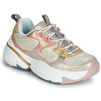 Chaussures Femme Baskets basses Victoria AIRE METALICO NACAR Beige