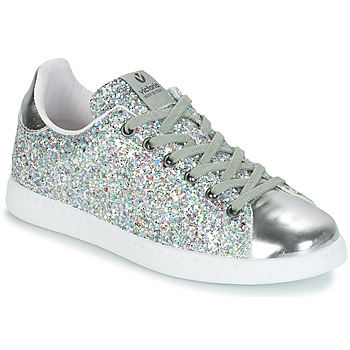 competitive price 8cf49 d6059 Chaussures Femme Baskets basses Victoria TENIS GLITTER Bleu