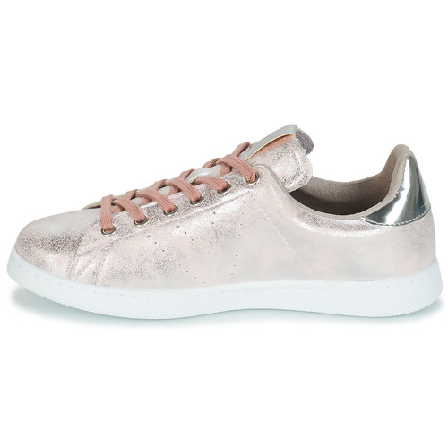 Metalizado Baskets Basses Tenis Femme Rose Victoria nOkX80wP