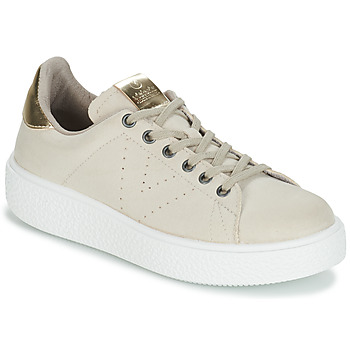 Chaussures Femme Baskets basses Victoria UTOPIA RELIEVE ANTELINA Beige