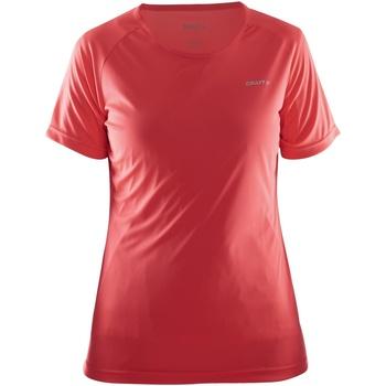 Vêtements Femme T-shirts manches courtes Craft Prime Rouge