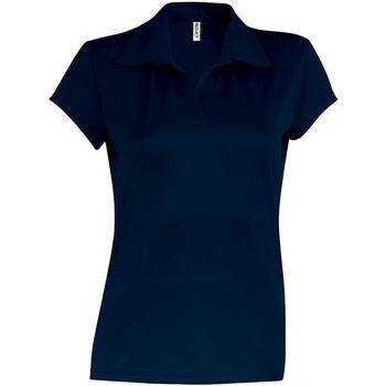 Vêtements Femme Polos manches courtes Kariban Proact Performance Bleu marine