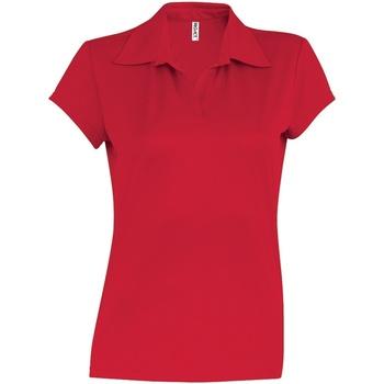 Vêtements Femme Polos manches courtes Kariban Proact Performance Rouge