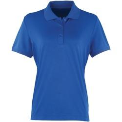 Vêtements Femme Polos manches courtes Premier Coolchecker Bleu roi