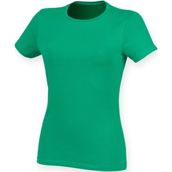 Vêtements Femme Musse & Cloud Skinni Fit Stretch Vert