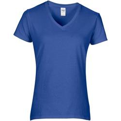 Vêtements Femme T-shirts manches courtes Gildan Premium Bleu roi