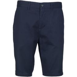 Vêtements Homme Shorts / Bermudas Front Row Chino Bleu marine