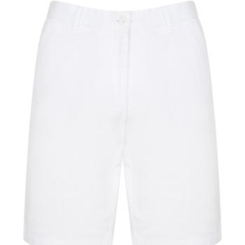 Vêtements Homme Shorts / Bermudas Front Row Chino Blanc