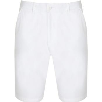 Vêtements Femme Shorts / Bermudas Front Row Chino Blanc